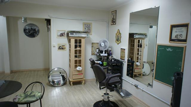 Barbearia. Espaço pronto para barbearia