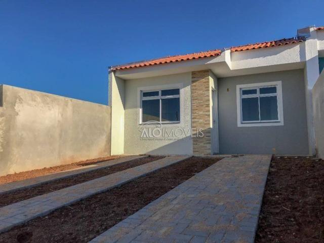 Casa com 2 dormitórios à venda, 42 m² por r$ 130.000 - estados - fazenda rio grande/pr - Foto 15