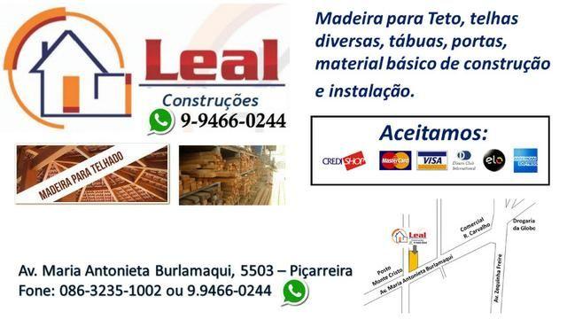 Madeira para Teto e telhas em até 12x - Foto 6