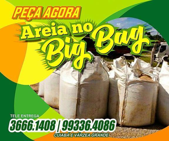 ( Areia e Brita ) Saco Bag - Ligue Já