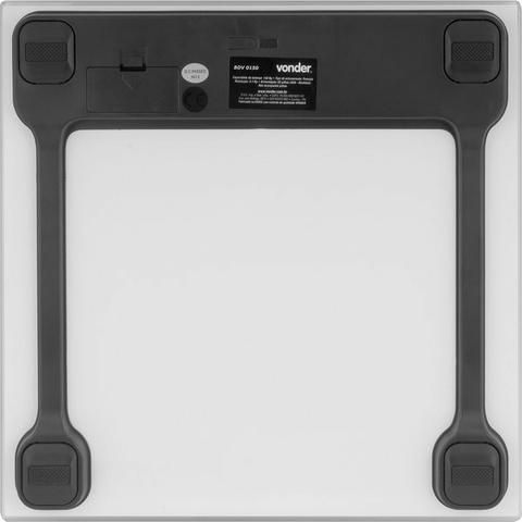 Balança digital de vidro 150 kg, BDV 0150 Vonder - Foto 4