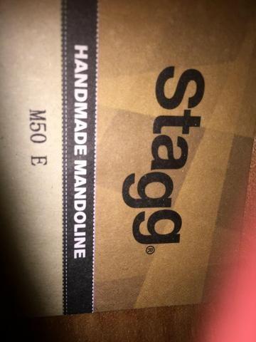 Bandolim Mandolin Stagg M50e Redburst M50 Elétrico - Vendo ou troco