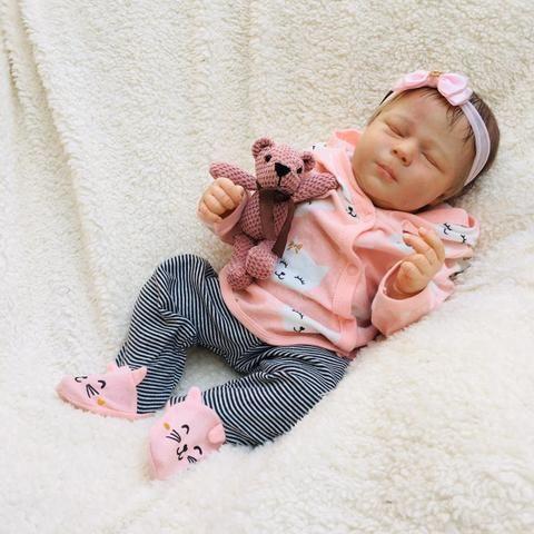 Bebê reborn olhos fechados - Foto 5