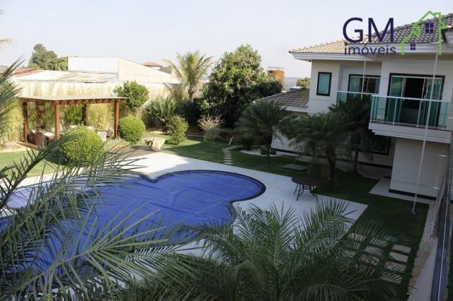 Casa a venda / setor de mansões / 4 suítes / piscina / churrasqueira / varanda / sobradinh - Foto 3