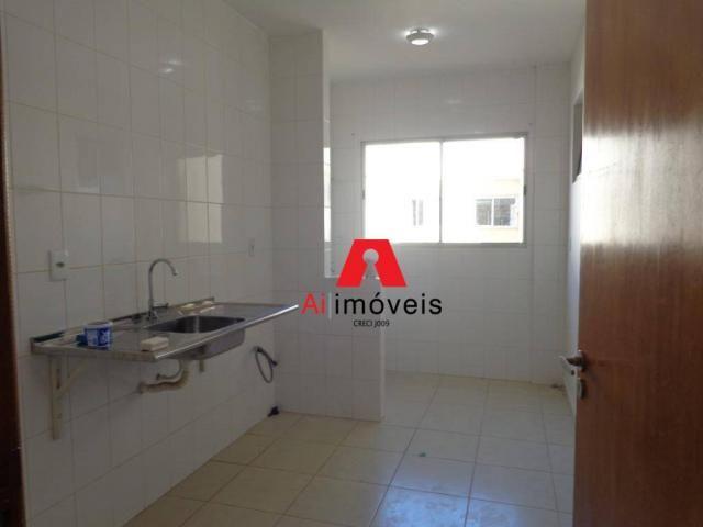 Apartamento com 2 dormitórios sendo 1 suíte, à venda, 67,20 m² por r$ 270.000 - conjunto m - Foto 8