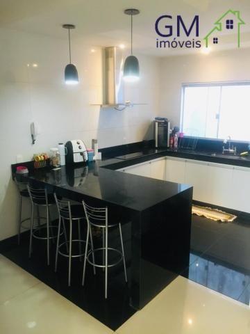 Casa a venda / condomínio rk / 03 quartos / churrasqueira / piscina / aceita casa de menor - Foto 12