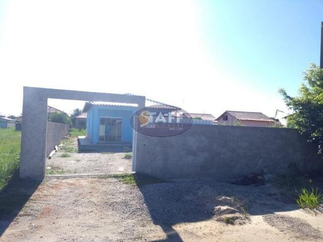 OLV-Casa com 2 dormitórios à venda, 90 m² por R$ 140.000 - Unamar - Cabo Frio/RJ CA1013 - Foto 3