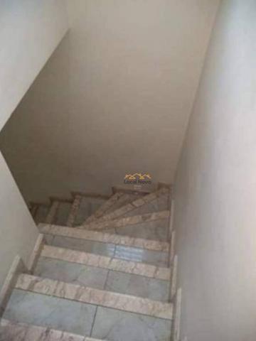 Sobrado com 3 dormitórios para alugar, 130 m² por r$ 1.700,00/mês - parque continental i - - Foto 20