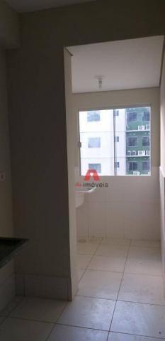 Apartamento com 2 dormitórios para alugar, 53 m² por R$ 1.225,00/mês com CONDOMINIO E IPTU - Foto 12
