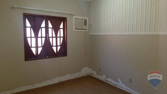Linda casa com piscina para locação dentro de condomínio - Foto 12
