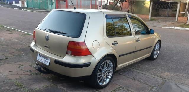 VW golf 1.6 Completo com rodas aro 17 ano 2001 - Foto 4