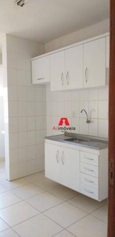 Apartamento com 2 dormitórios à venda ou locação, 71 m² por r$ 280.000 - portal da amazôni - Foto 3