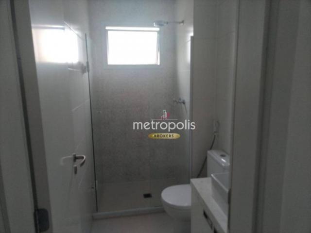 Apartamento com 2 dormitórios para alugar, 69 m² por r$ 2.500/mês - cerâmica - são caetano - Foto 15