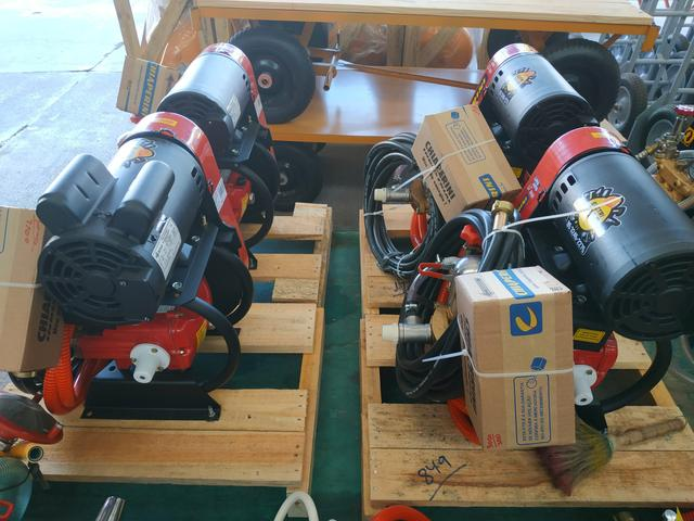 Lavadora lj3000 alta pressão 2cv 220v ou 380v chiaperrini - Foto 4