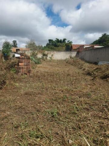 Terreno para venda em quatro barras, jardim das acácias, 2 dormitórios, 1 banheiro