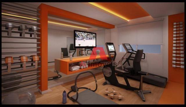 Apartamento com 3 dormitórios à venda, 104 m² por r$ 530.000 - baixa da colina - rio branc - Foto 6