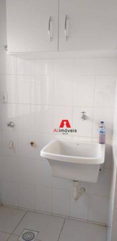 Apartamento com 2 dormitórios à venda ou locação, 71 m² por r$ 280.000 - portal da amazôni - Foto 4