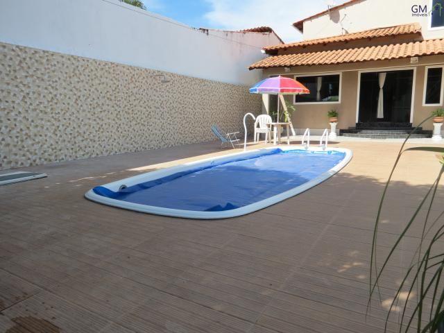 Casa a venda / condomínio rk / 04 quartos / churrasqueira / piscina / academia / quintal - Foto 4