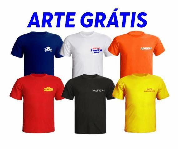 adaa738be7 Camisetas Personalizadas Empresa Uniforme Frente e Verso - Outros ...