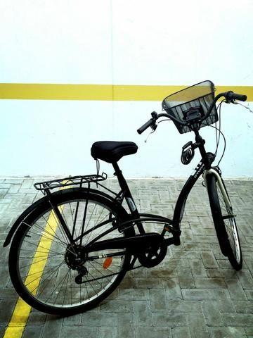 2c32df4f2 Bicicleta Btwin Elops 3 + Rack Eqmax (com nota fiscal)