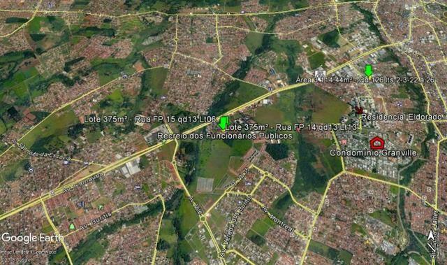01 lote no Recreio dos Funcionários Públicos, 375m² de área cada um - Foto 10