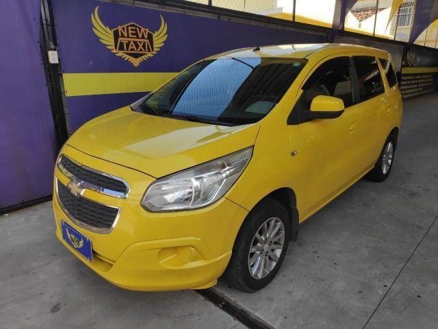Spin lt 1.8 automatica, ex taxi completa, gnv, aprovação já, s/compr renda, 1° parc 90dias - Foto 7