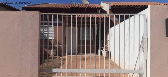Casa para Venda em Várzea Grande, Canelas, 2 dormitórios, 1 banheiro, 2 vagas - Foto 2