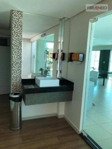 Apartamento com 2 dormitórios para alugar, 99 m² por R$ 3.100,00/mês - Canto do Forte - Pr - Foto 11