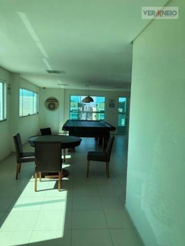 Apartamento com 2 dormitórios para alugar, 99 m² por R$ 3.100,00/mês - Canto do Forte - Pr - Foto 9