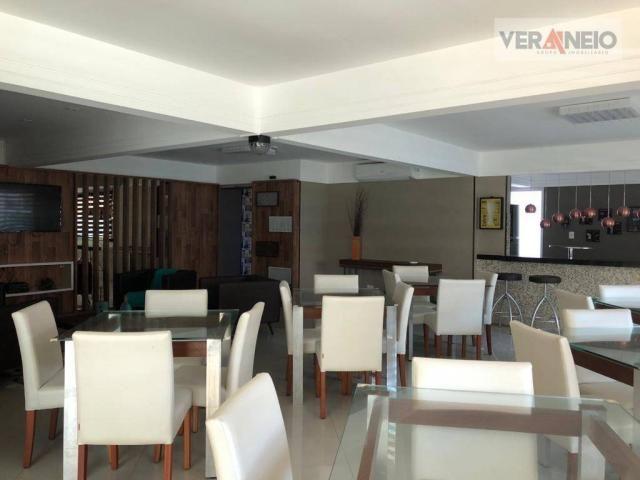 Apartamento com 2 dormitórios para alugar, 99 m² por R$ 3.100,00/mês - Canto do Forte - Pr - Foto 7