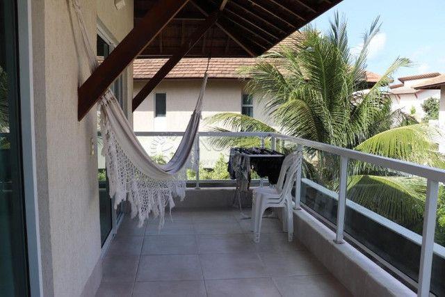 GN- Casa com 5 suítes, piscina privativa, deck, mobiliada, prox. a praia de Muro Alto - Foto 17