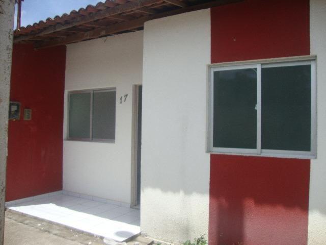 Alugo Casa cond. fechado, Bairro Santos Dumont,Maceió-AL, (500,00), 2 quartos, com garagem - Foto 2