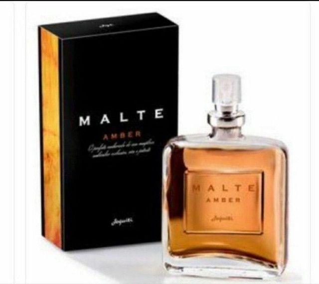 Deo colônia masculina malte amber jequiti