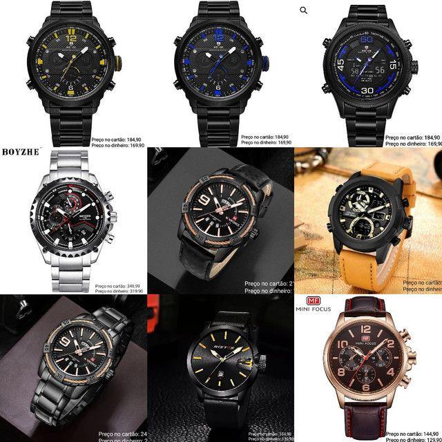 Relógios masculinos Importados originais exclusivos - Foto 2