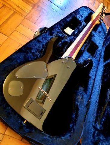 Ibanez iron label RGIX27FEQM SBS Sapphire Blue premium prestige Jem js1000 rg550 - Foto 2