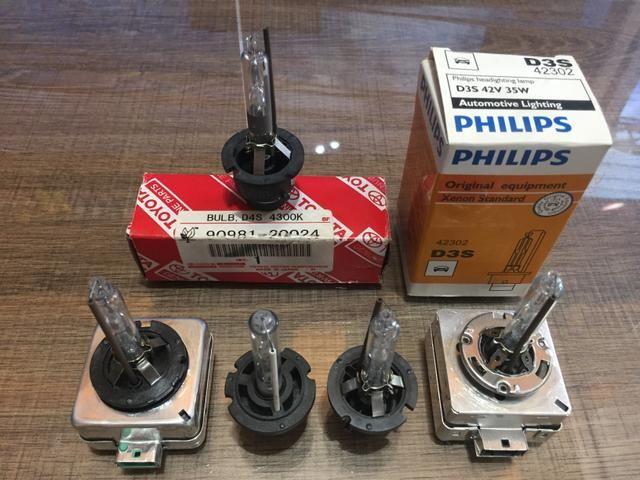 Lâmpadas Xenon para reposição originais de fábrica