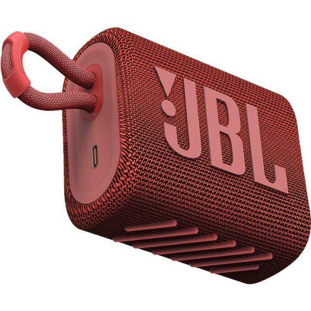 Caixa de Som JBL Go 3 Portátil Bluetooth 5.1 A Prova D'agua Original Lançamento - Foto 5