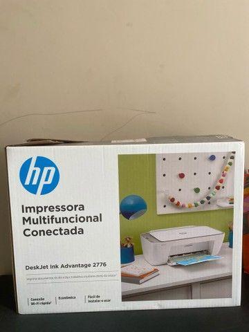 Impressora HP multifuncional conectada - Foto 2