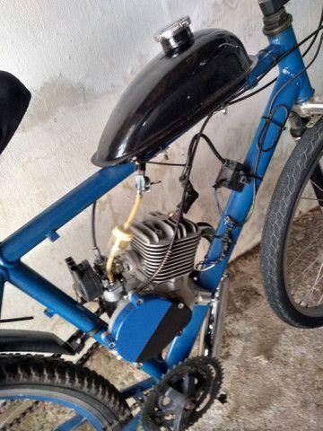 Bicicleta motorizada nova - Foto 2