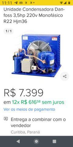 Vendo unidade de refrigeração 3,6hp monofásico - Foto 2