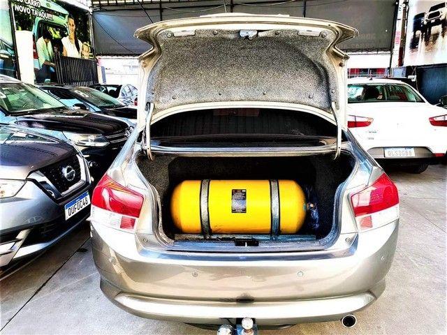 Honda City completo 2010 doc ok com gnv instalado  - Foto 6