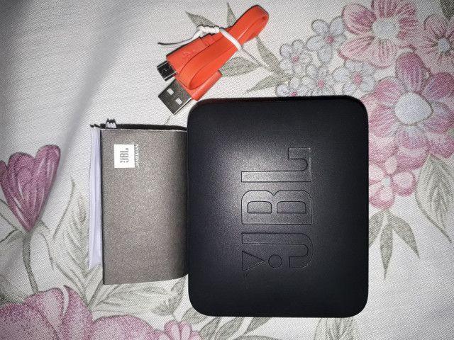 Vendo o troco  uma caixa de som JBL go2 original go2 original zerado usando só duas vezes