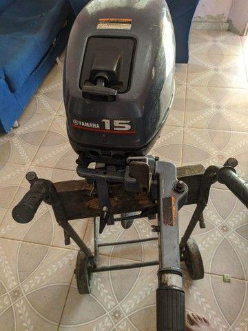 Motor 15 hp Yamaha - Foto 3