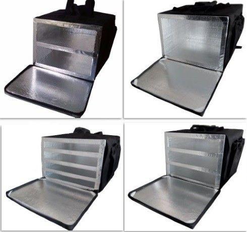 RS Bolsa Mochila térmica Motoboy Bag Entregador Pizza Marmitex Lanches