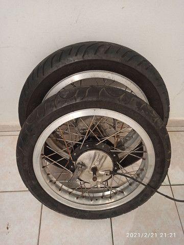 Rodas Viper com pneus
