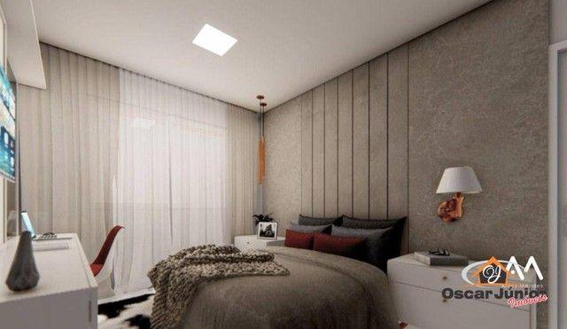 Casa com 3 dormitórios à venda, 110 m² por R$ 315.000,00 - Timbu - Eusébio/CE - Foto 6