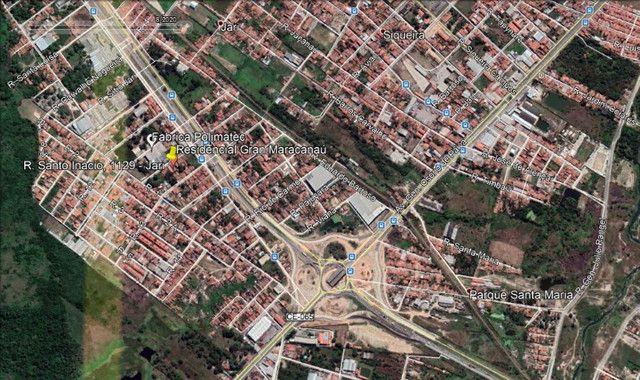 Apartamento com 1 quarto para alugar, 37 m² por R$ 320/mês - Maracanaú/CE - Foto 13