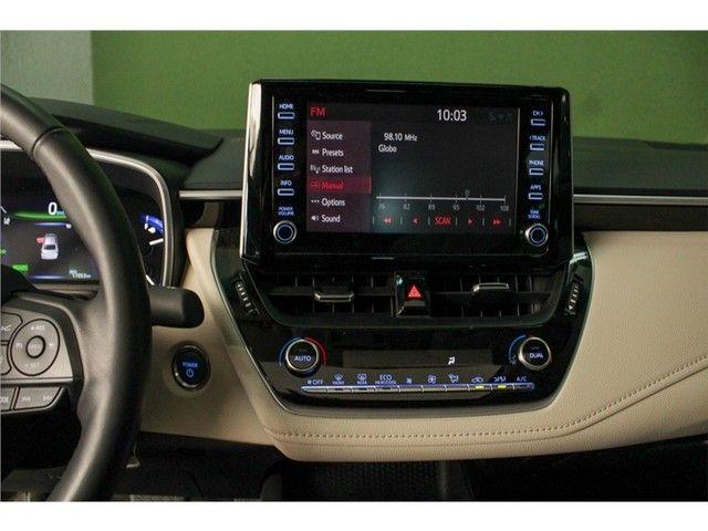 Toyota Corolla 2020 1.8 altis hybrid premium cvt - Foto 12