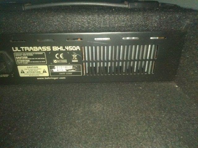 amplificador berhinger bxl450 - Foto 3