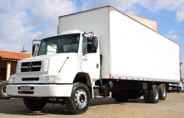 caminhão mb 1620 bau  - Foto 3